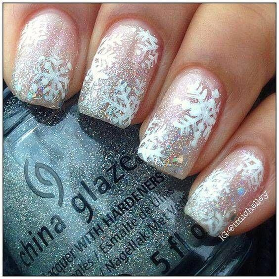 60 Winter Holiday Nail Designs -   20 holiday Nails winter ideas