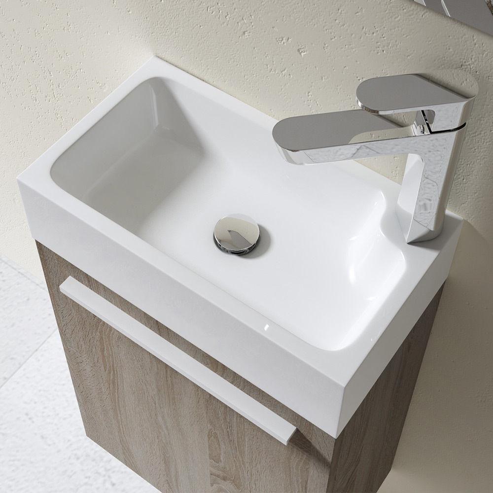 Compact Cloakroom Bathroom Cast Stone Basin Durovin Bathrooms Uk Wash Basin Basin Sink Vanity Unit