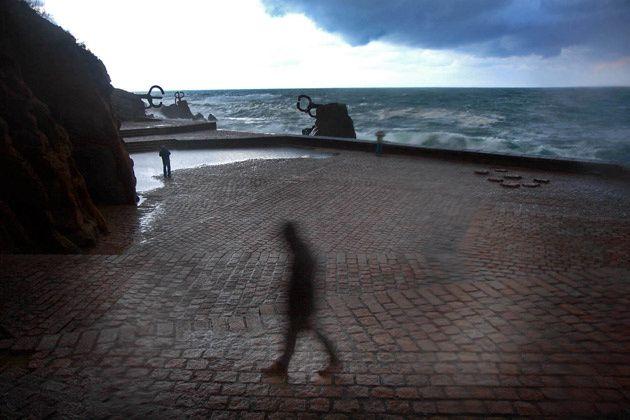 antiguía de san sebastián | peine del viento, el viento y día de