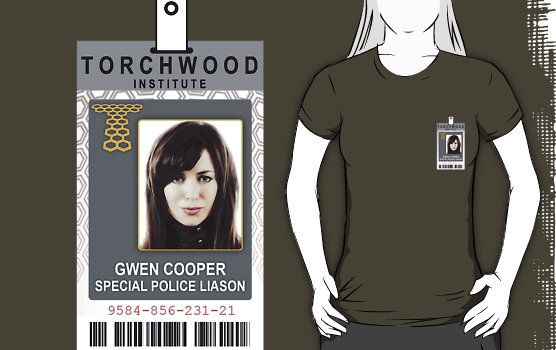 Torchwood Gwen Cooper ID Shirt by zorpzorp
