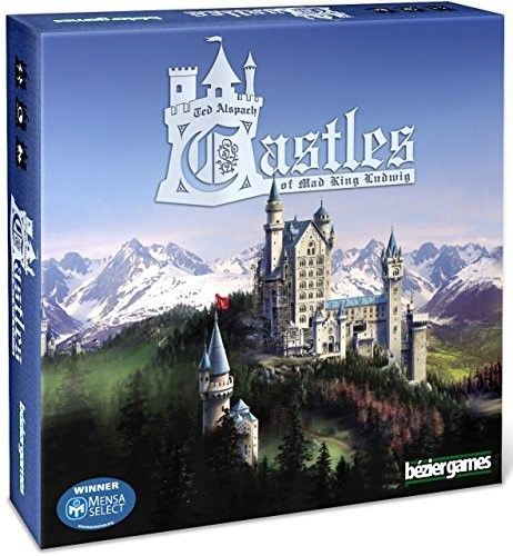 Castles Of Mad King Ludwig Board Game Fun Board Games Board Games Castle