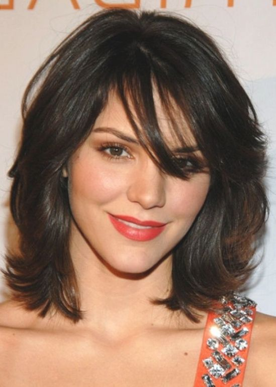 1000+ Ideas About Medium Length Layered Hairstyles On Pinterest ...