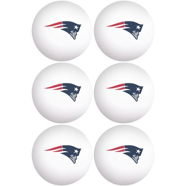 New England Patriots Pong Balls 6ct