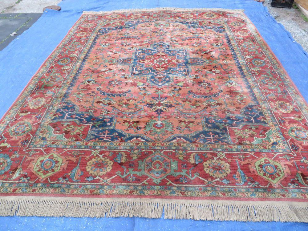 8 X 10 6 Karastan Medallion Serapi Heriz 700 Pattern 736 Wool Rug Nice Ebay