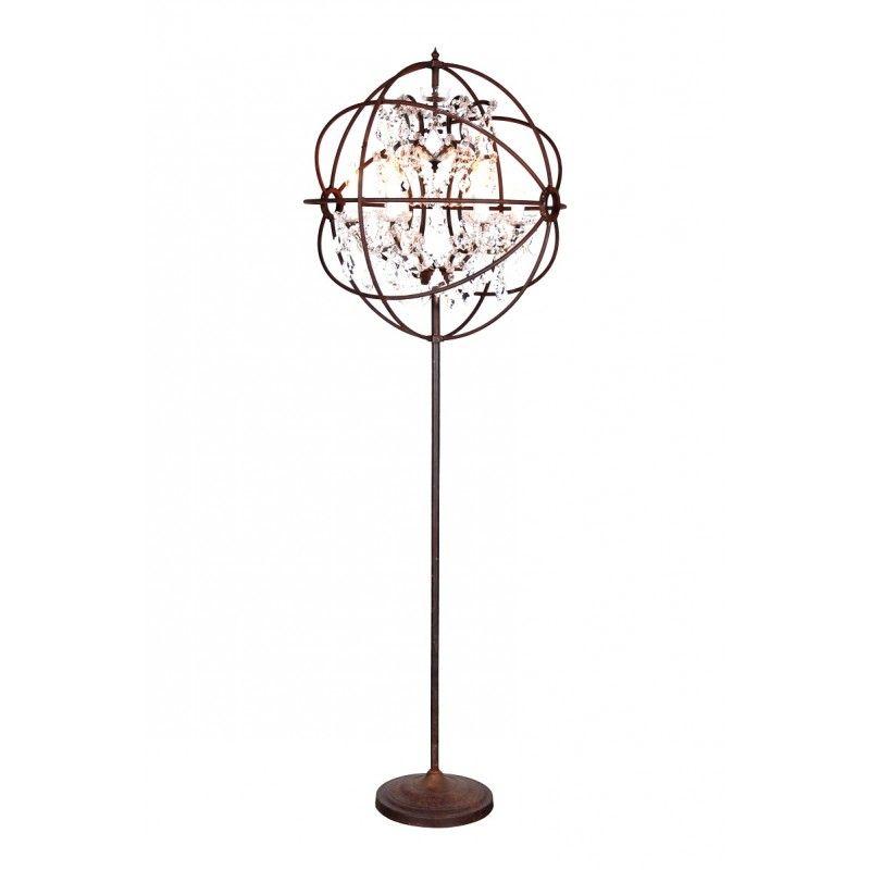 Gyro Crystal Floor Lamp