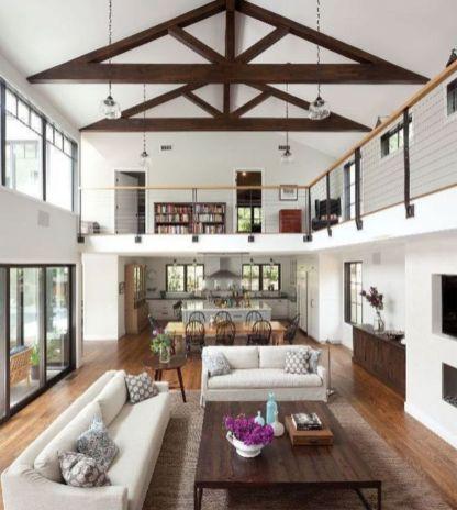 Modern Farmhouse Living Room Decorating Ideas 33