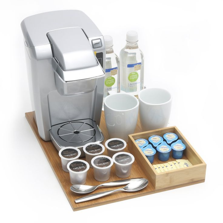 Beverage organizer tray bamboo bamboo tray coffee