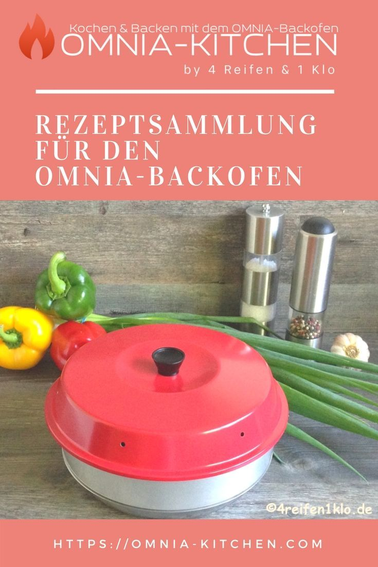 Photo of Recipe collection for the Omnia oven. OMNIA-KITCHEN has the largest complete …