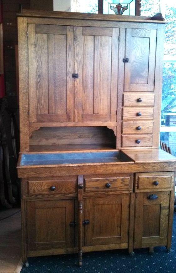 Antique dry sink Primitive Cabinets, Primitive Furniture, Old Furniture,  Primitive Antiques, Country - Antique Dry Sink Hoosier Cabinet In 2018 Pinterest Antiques
