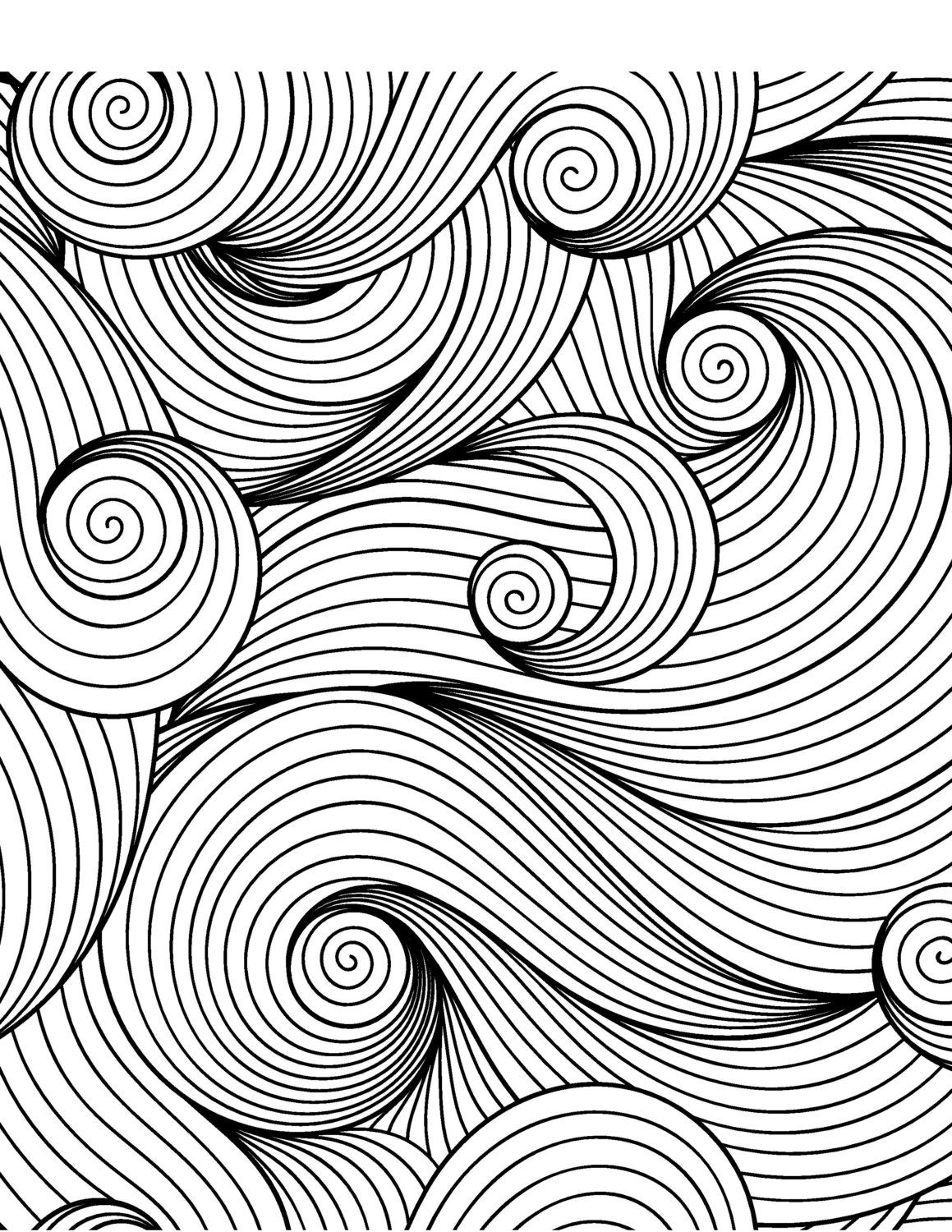 Calming Patterns Coloring Book