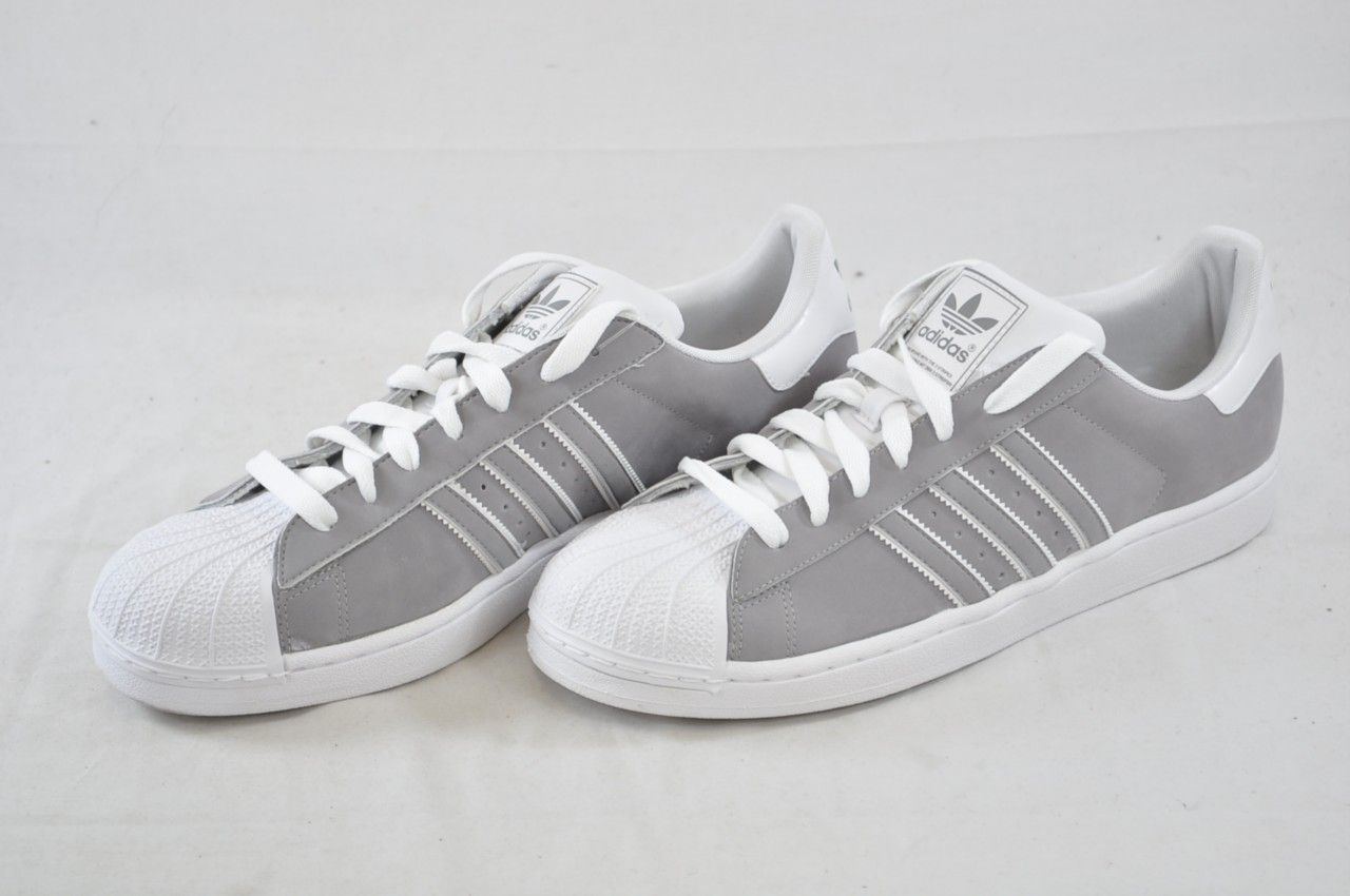 buy online d02a0 dd737 Details about Adidas Mens White Black Shoe Superstar II ...