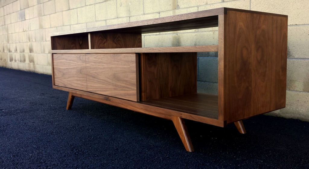 Mid Century Modern Tv Stand Home Media Ideas Mid Century Modern Tv
