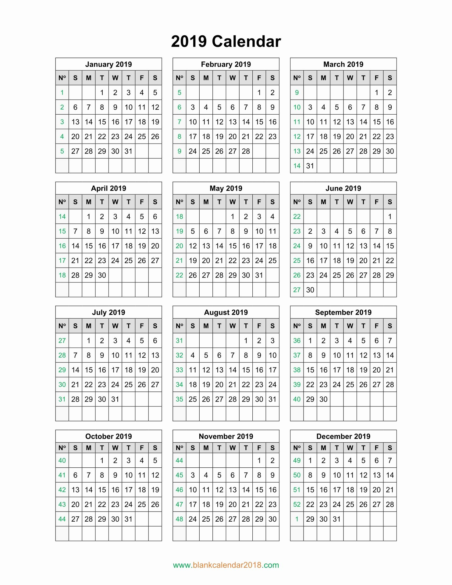 Beautiful 30 Illustration Fiscal Calendar 2019 Printable Free Calendar Template Calendar 2019 Printable Calendar Template