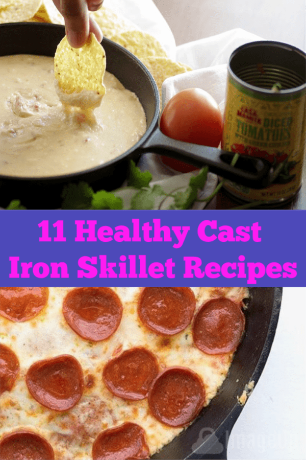 11 Healthy Cast Iron Skillet Recipes that will make your eyes pop.  Includes keto, whole foods and 11 Healthy Cast Iron Skillet Recipes that will make your eyes pop.  Includes keto, whole foods and vegetarian.  Easy and delicious!
