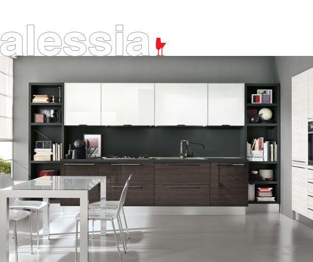 ▷ Современные модели Cucine LUBE Italy - Модель Alessia | Кухни ...