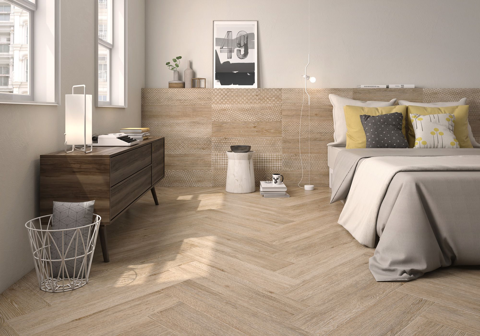 Flamant Collection Wood Facade Ceramic Tiles By Roca Flamant