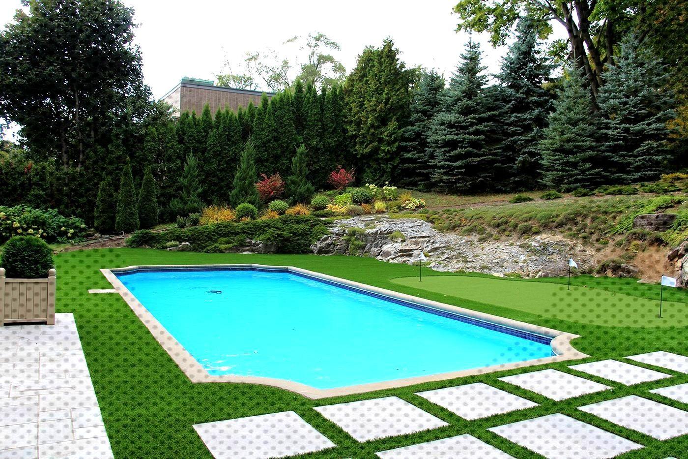 Tour De Piscine Gazon Synthetique synthetique #westmount #montreal #piscine #autour #quebec