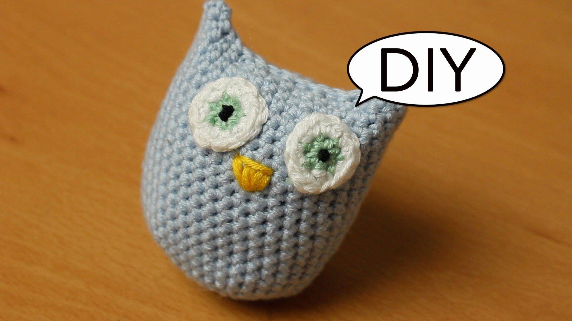 Amigurumi Eule häkeln *ganz einfach* Do it yourself | crochet cutie ...