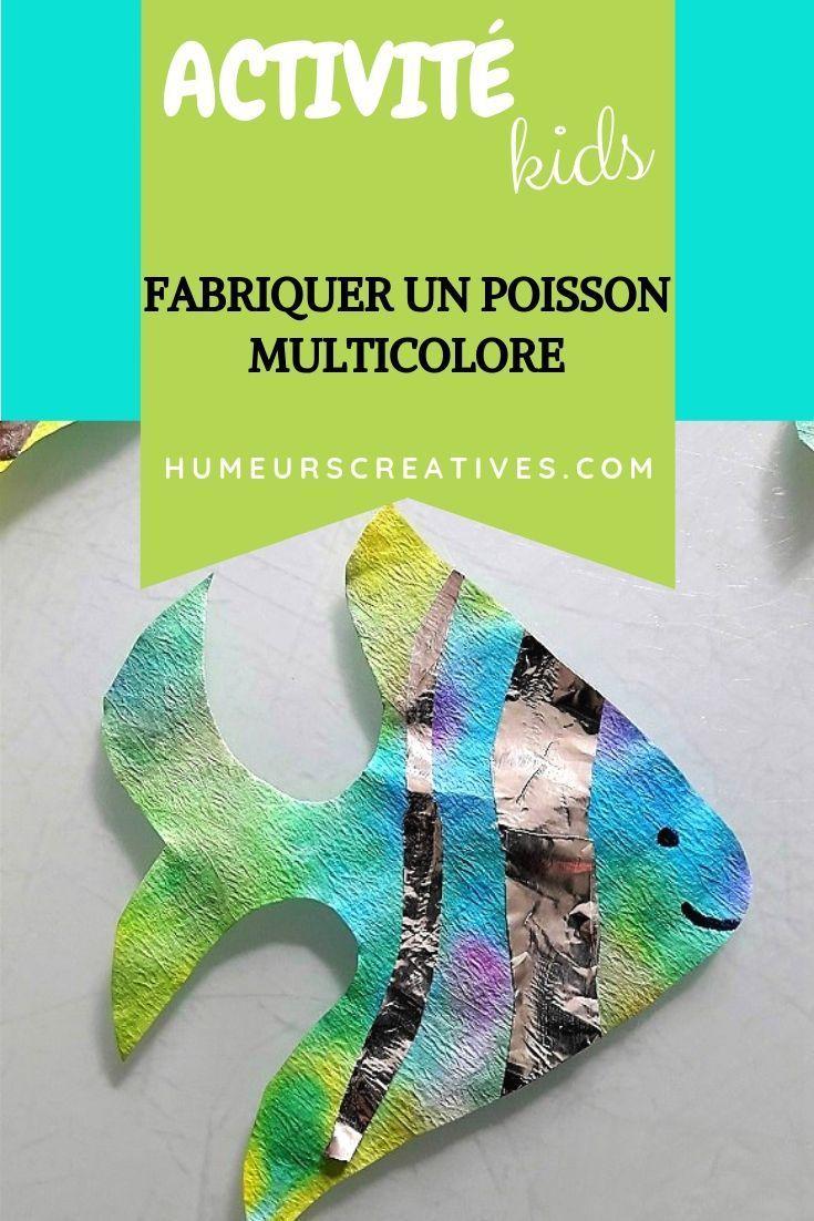 Fabriquer Une Tour A Poisson fabriquer des poissons colorés avec les enfants -   activité