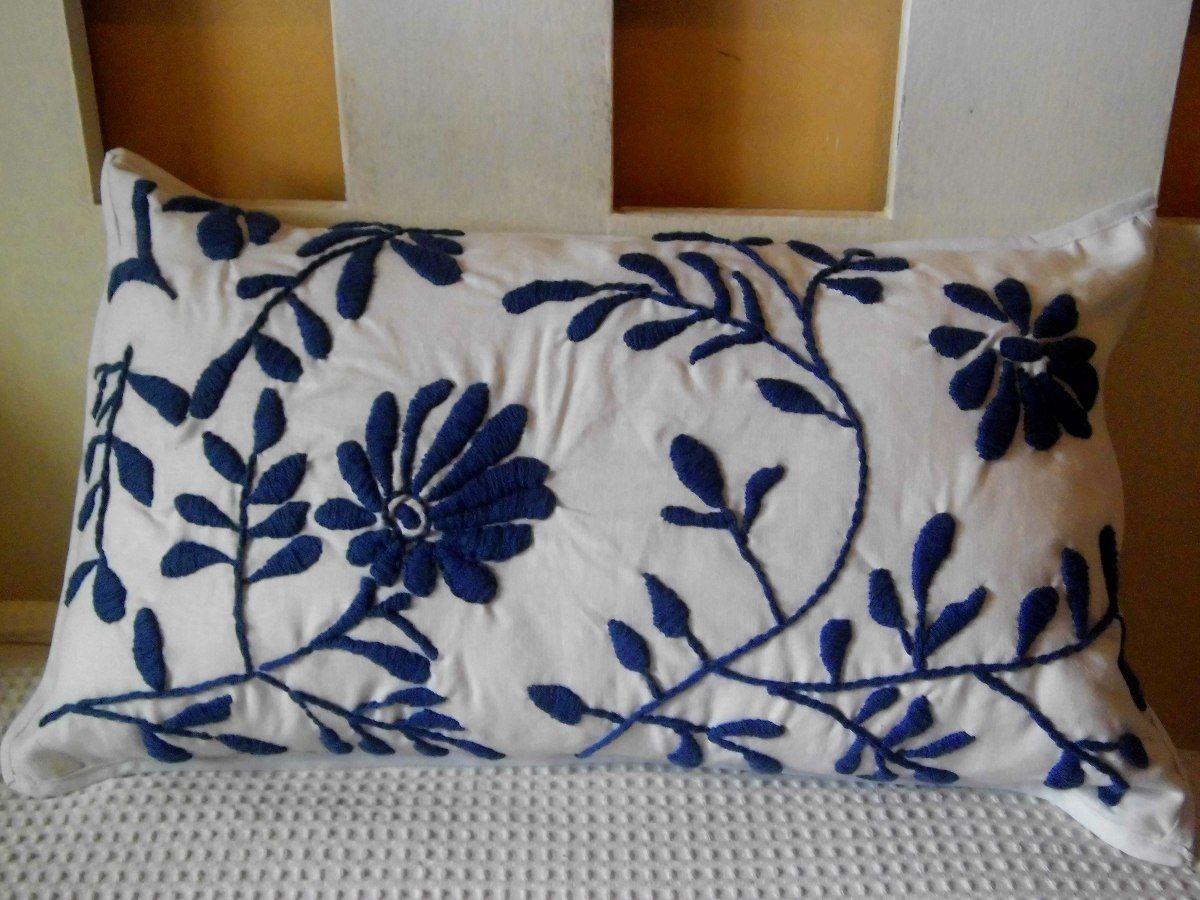 Almohadones bordados mexicanos artesanales 300 00 en - Como hacer almohadones ...