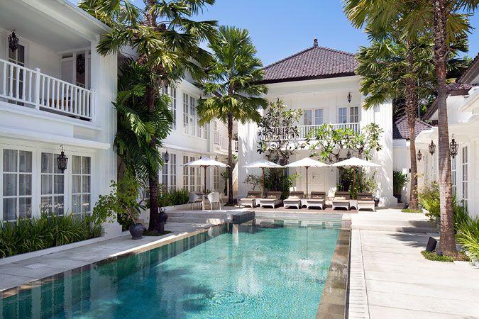 The Colony Hotel Bali Seminyak Bali Hotels Bali Boutique Hotels The Colony Hotel Landscape Architecture Design Bali Hotels