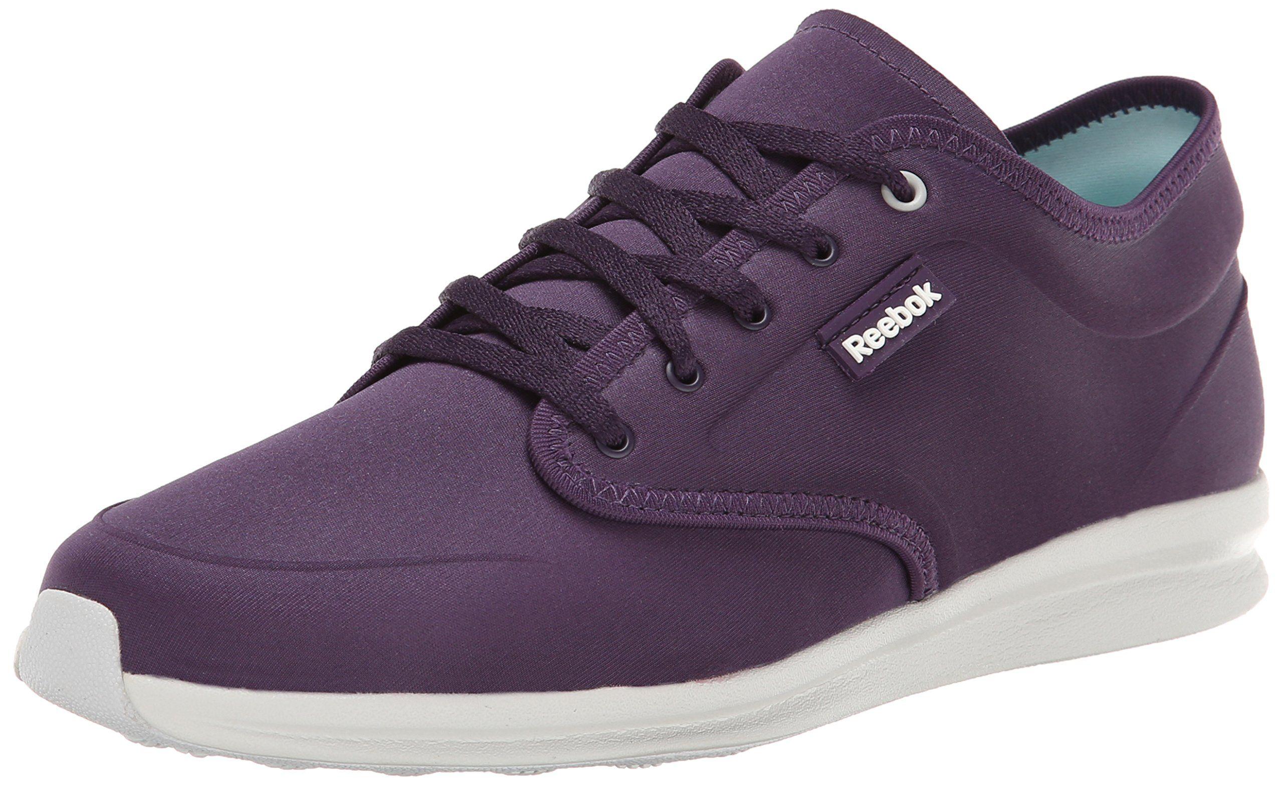 Reebok Women's Skyscape Chase Walking Shoe, Portrait Purple/Steel, ...