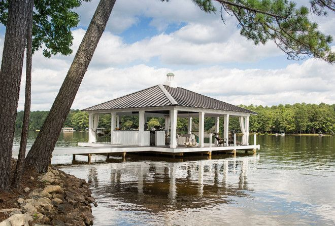 new dock ideas large dock with metal roof dock metalroof - Dock Design Ideas