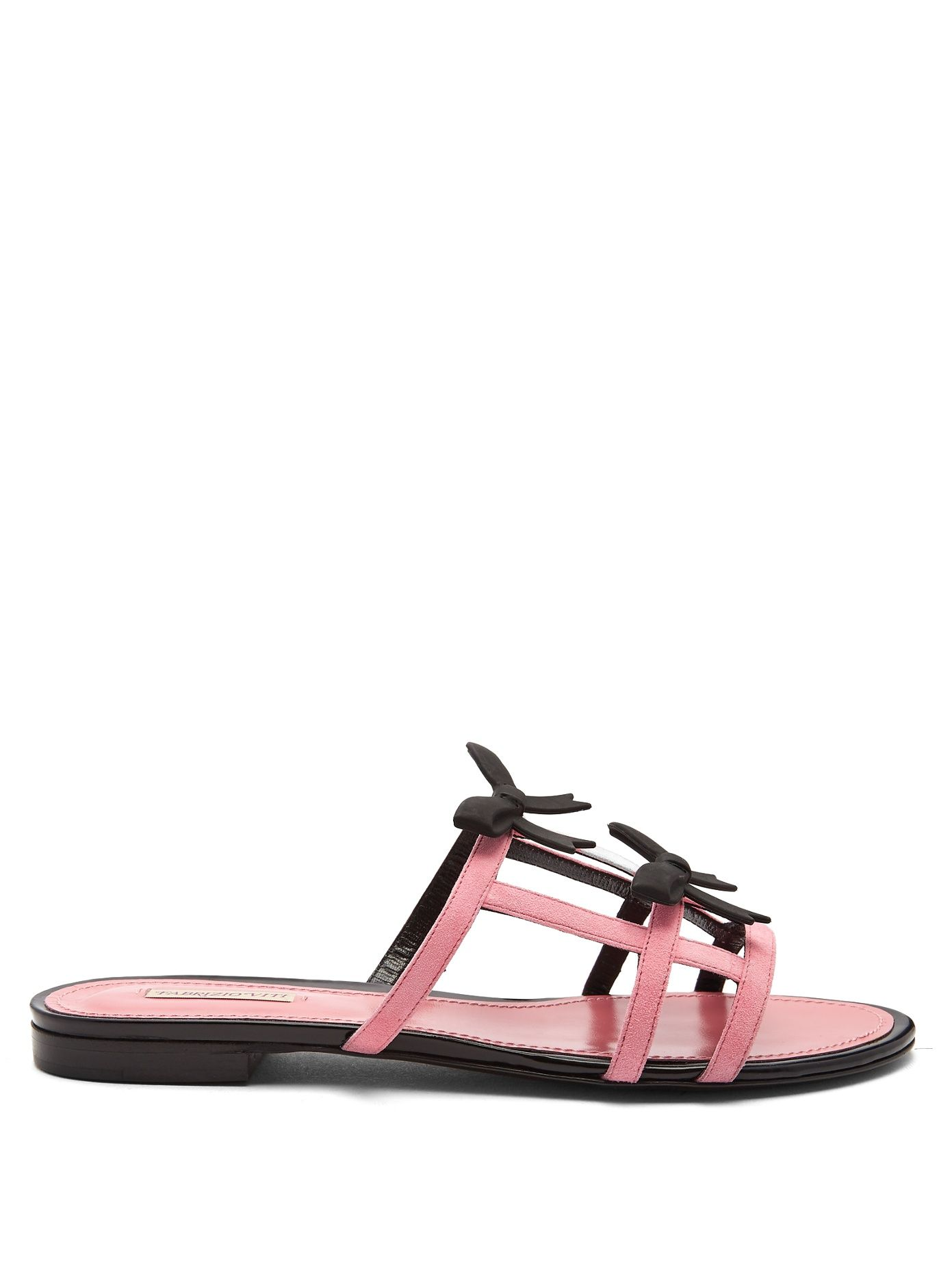 Pick A Best For Sale City Bow suede sandals Fabrizio Viti Buy Cheap Manchester Discount 100% Guaranteed Low Price Fee Shipping Cheap Footlocker Finishline mbo3Vmn