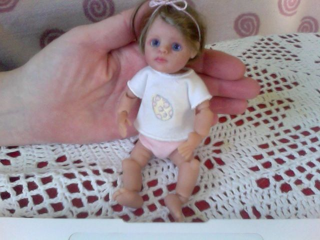 My sweet ooak toddler <3 by Tina Kewy <3 her name is Mijadorie <3