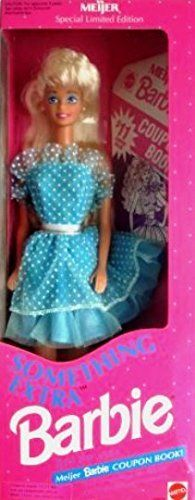 Meijer Something Extra Barbie Doll New