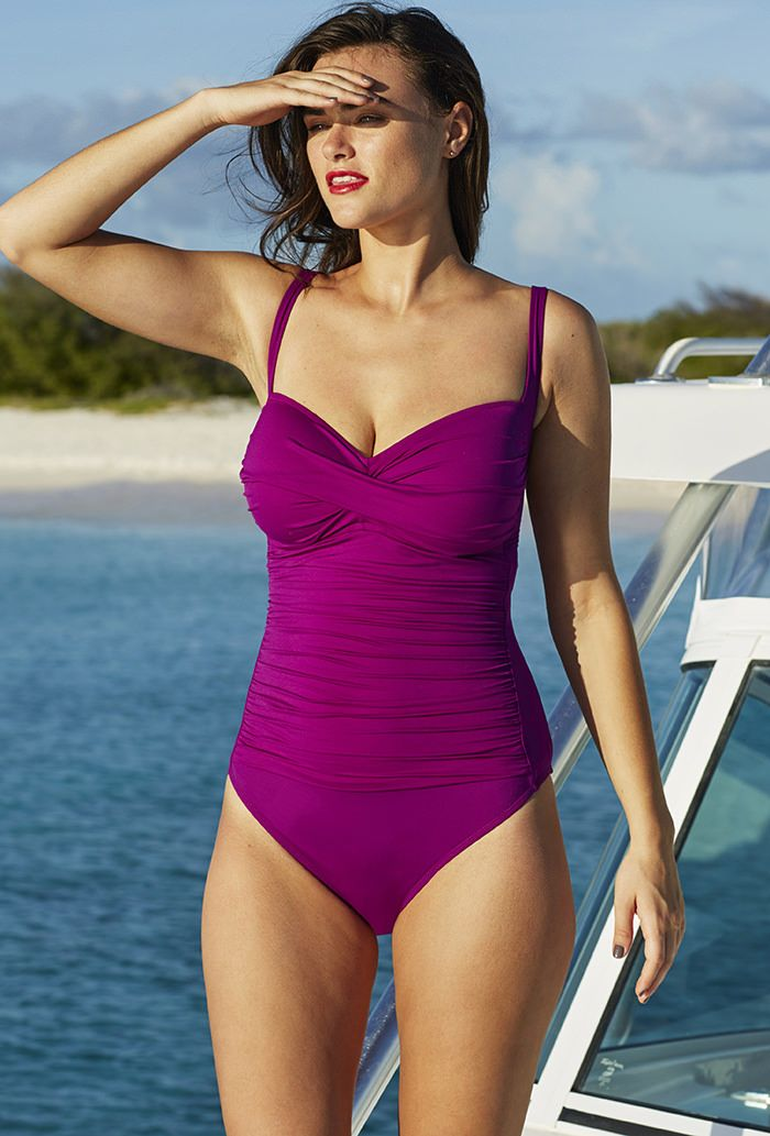 70c23f498f La Blanca Plum Sweetheart One Piece | Style I Wish I Had in 2019 ...