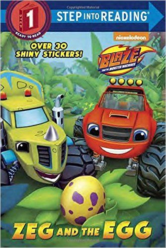 Zeg And The Egg Blaze And The Monster Machines Step Into