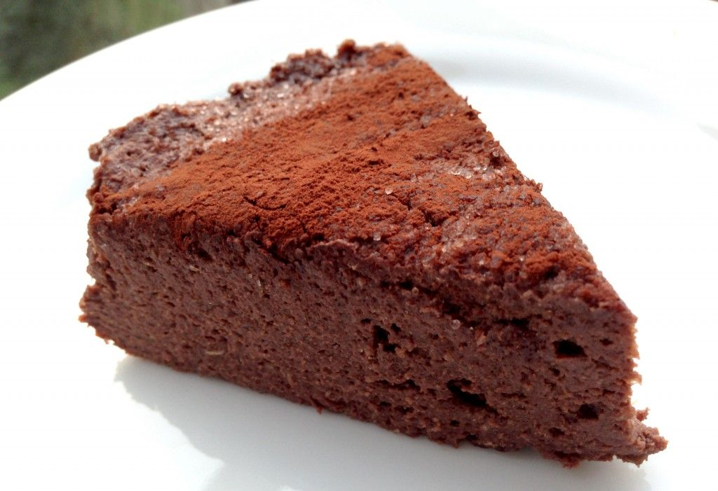 Low carb no bake chocolate protein cake