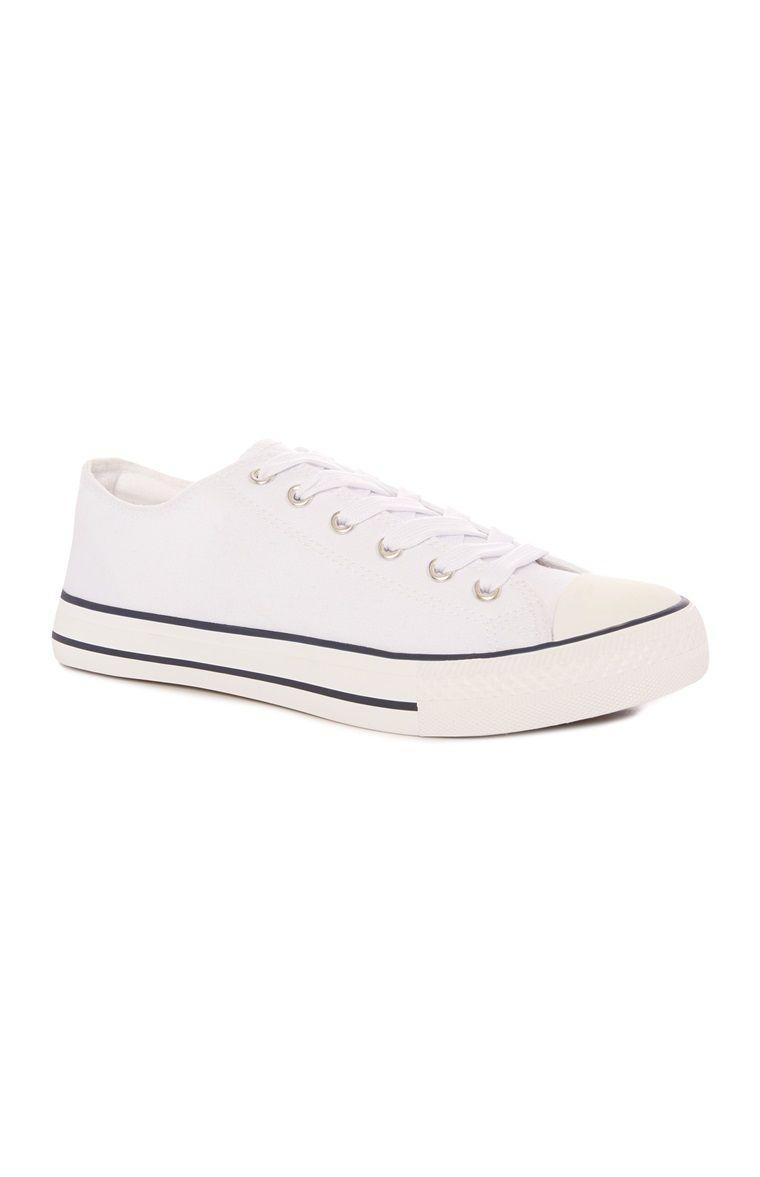 White Classic Sneaker 6.00 Primark