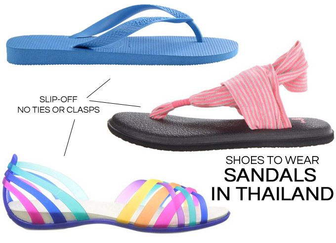 What Shoes to Wear in Thailand? The 5 Best Shoes to Pack