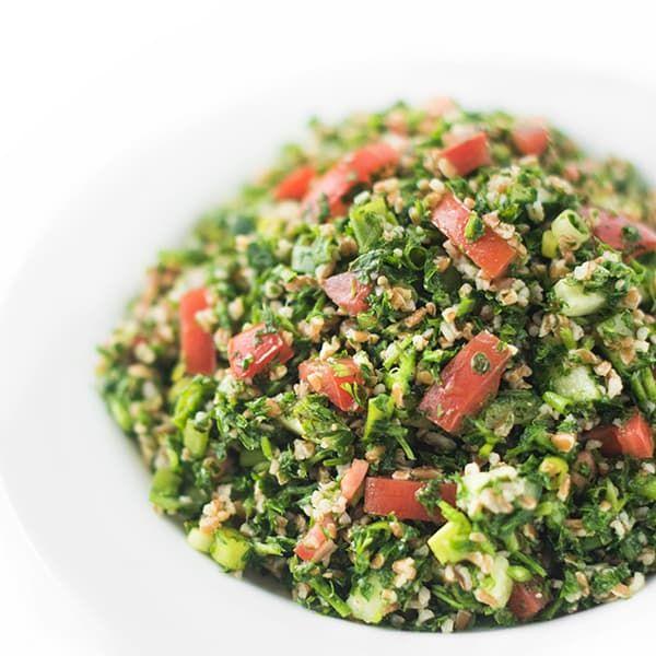 Lebanese Tabbouleh Salad - The Lemon Bowl®