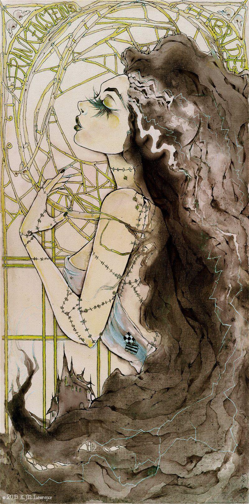 Frankenstein\'s Bride by IllusiveBlue on deviantART | My Monsters ...