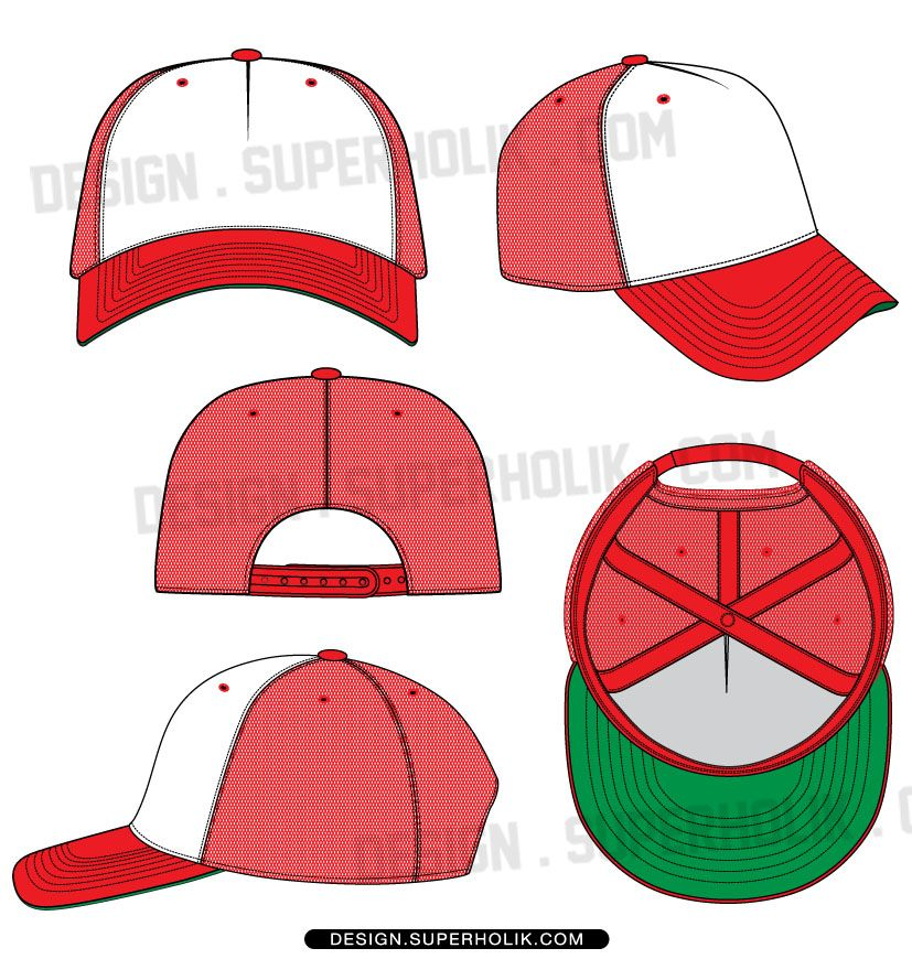 fashion design templates vector illustrations and clip artstrucker hat template cap vector. Black Bedroom Furniture Sets. Home Design Ideas