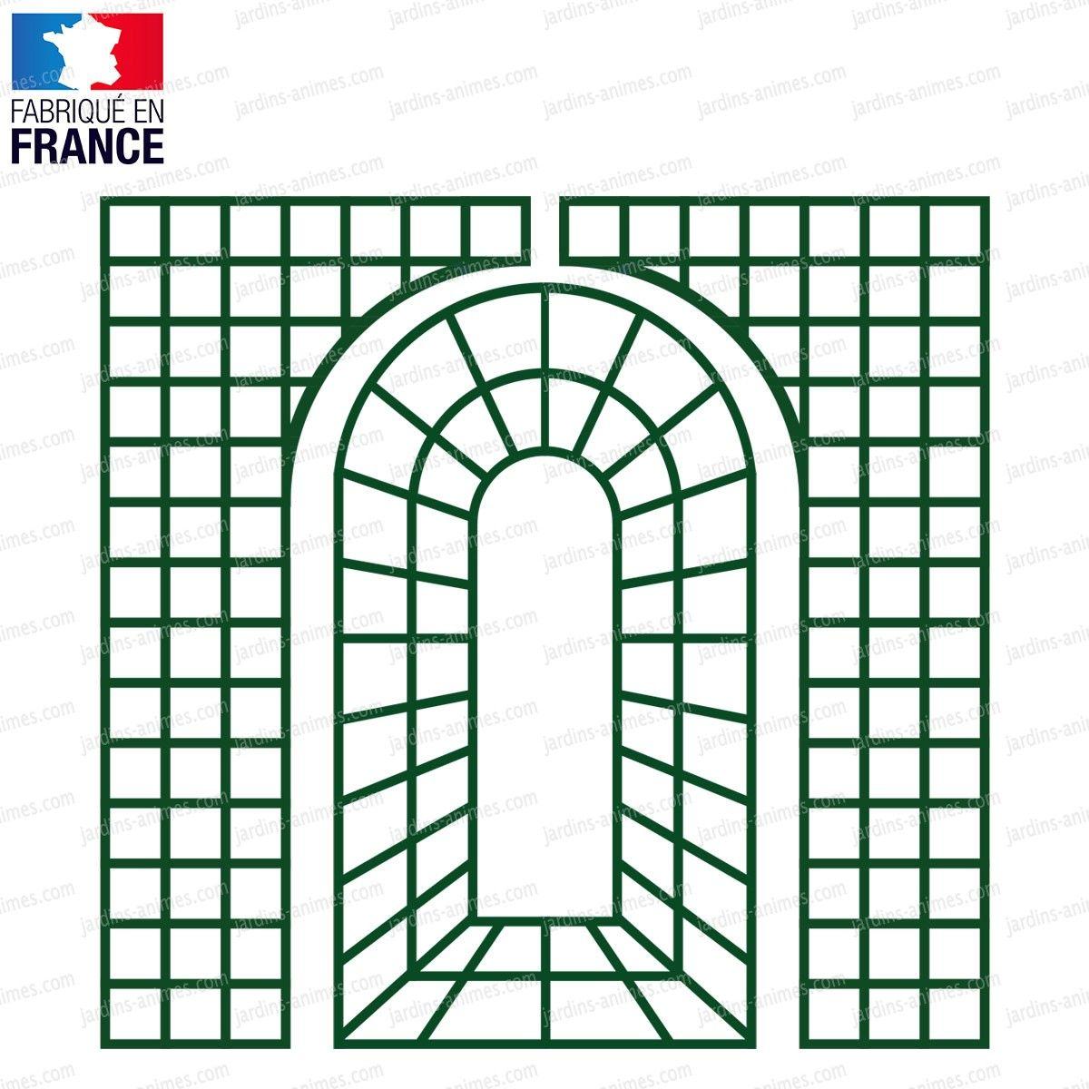Treillis Bois Pas Cher treillage décoratif en bois vert en 2020 | treillage