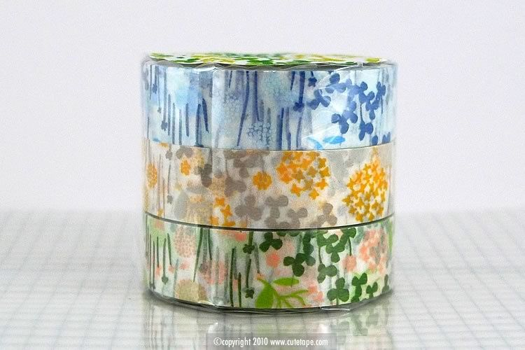 Pretty Little Garden Floral Washi Tape
