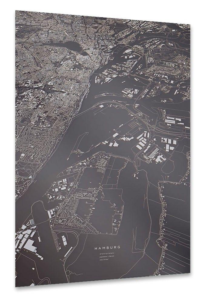 Hamburg als Poster bei artboxONE kaufen Hamburg poster