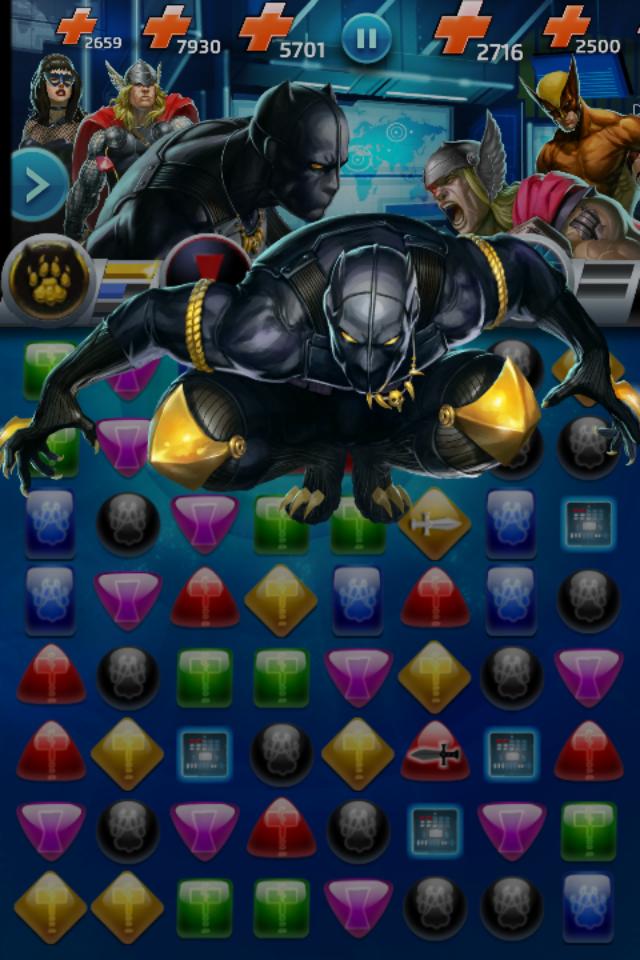 #Black #Panther #Fan #Art. (Black Panther (T'Challa) Battleplan Move, In: Marvel Puzzle Quest!) By: AMADEUS CHO! (THE * 5 * STÅR * ÅWARD * OF: * AW YEAH, IT'S MAJOR ÅWESOMENESS!!!™)[THANK Ü 4 PINNING<·><]<©>ÅÅÅ+(OB4E)   https://s-media-cache-ak0.pinimg.com/474x/c1/cd/b4/c1cdb4390d77890f389dea7934deee54.jpg