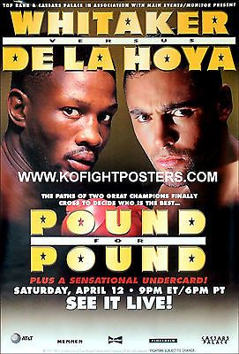 #Oscar de la hoya vs. #pernell whitaker / caesars/top rank ppv boxing #fight post,  View more on the LINK: http://www.zeppy.io/product/gb/2/132072719859/