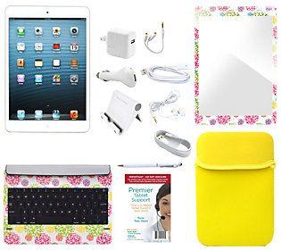 Apple iPad Mini 16GB, Keyboard, ScreenProtectorCase & Tech