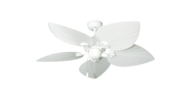 Palm woven bamboo ceiling fans dans fan city dans fan city bombay ceiling fan in pure white with abs pure white leaf blades aloadofball Gallery