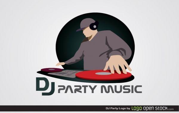 Dj Party Logo Free Logos Party Logo Dj Party Dj Logo