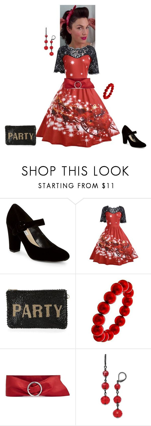 Christmas Rockabilly by andrea-barbara-raemy on Polyvore featuring ...