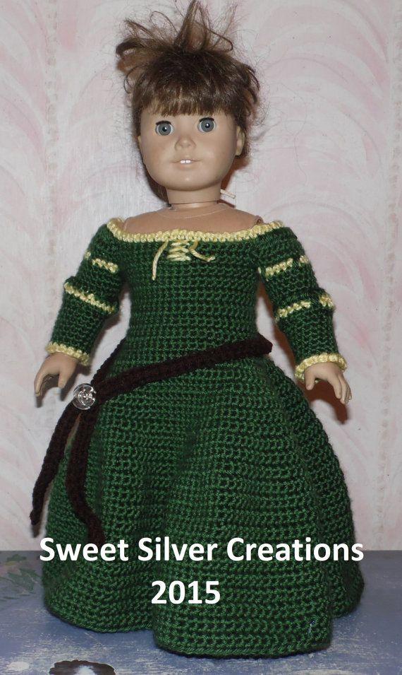18 Zoll American Girl Crochet Pattern von SweetSilverCreations | 18 ...
