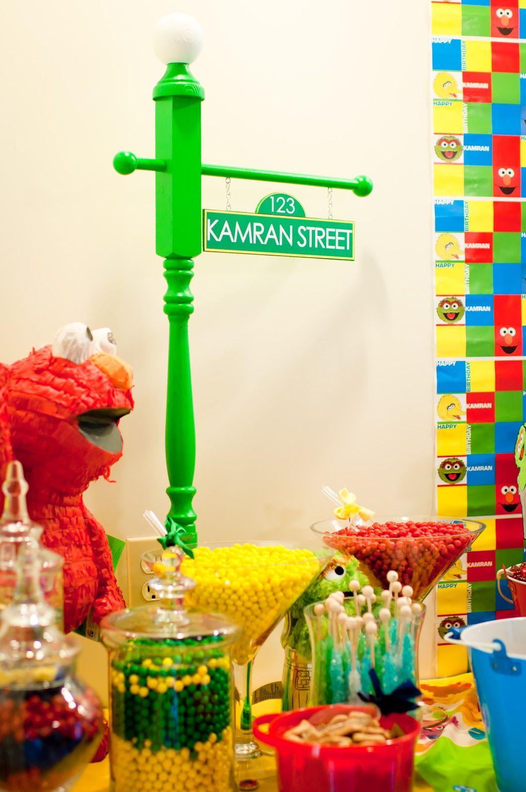 Kams cake pops sesame street birthday party sesame