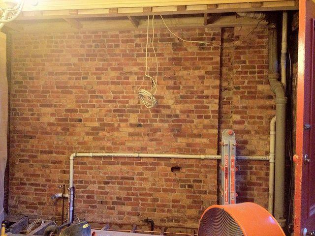 By Brick City Love Via Flickr Brick Craftsman Remodel Brick Wall Bedroom